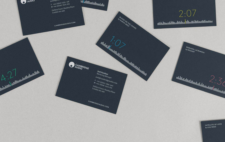 From The Readers No 1 Bp O Cambridge Audio Card Design Business Card Design