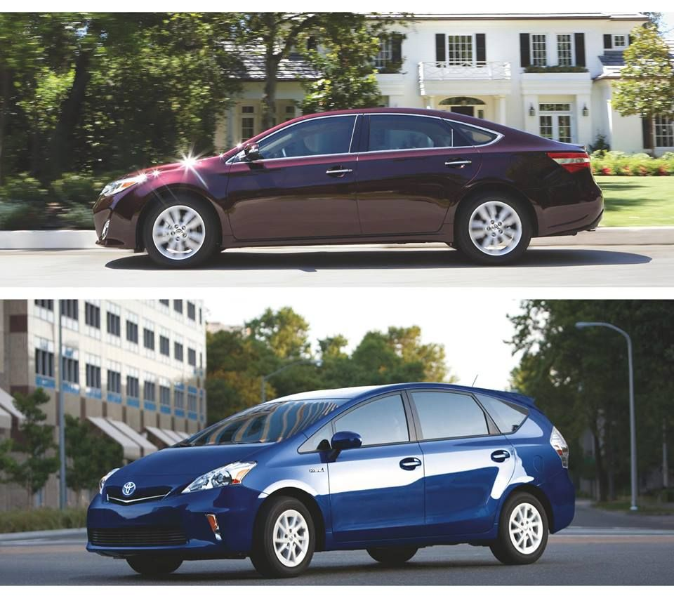 Toyota Avalon AND Prius v just named on 10 Best Family Cars list by Kelley  Blue