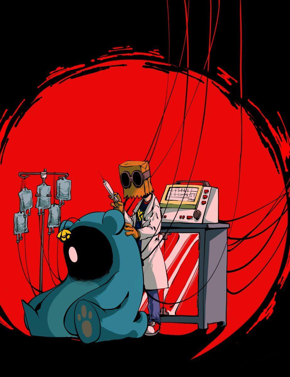 Dr  Flug and 5 0 5  | Villainous | Cartoon crossovers, Art
