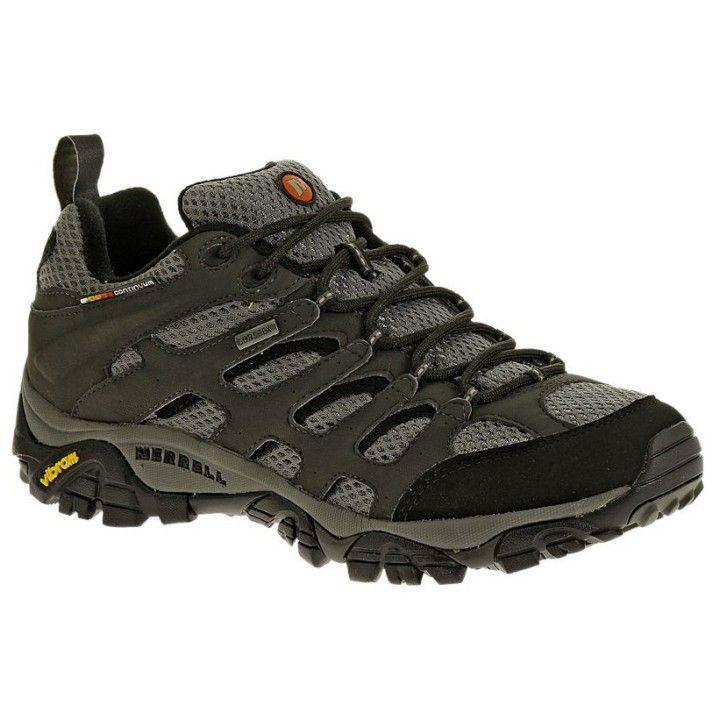Hombre Zapatillas Para Trekking Gris Color Moab Gtx Merrell En ikuOPXZT