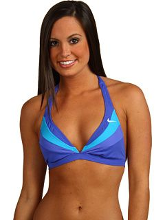 Nike - Rainbow Motion Halter Bra  Great top for posing
