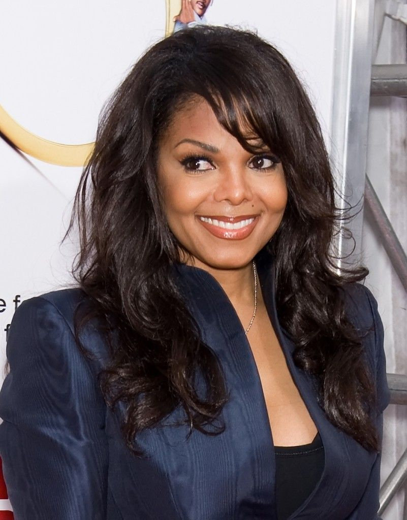 Long Layered Hairstyles For Black Women Like Janet Jackson Tivestyle Hair Styles Long Layered Hair Layered Hair