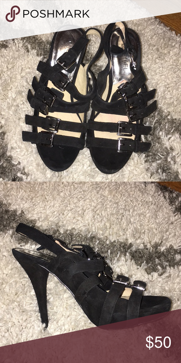 310f6ebb161 Black Michael Kors heels Size 61 2