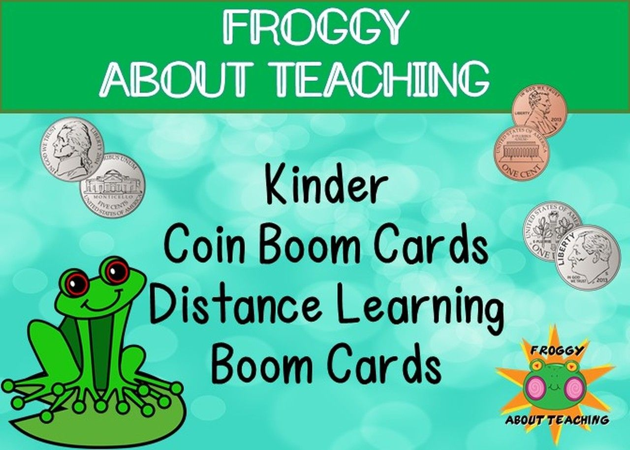 Boom Cards Kinder Coins In