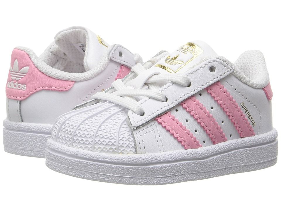 adidas superstar pink infant
