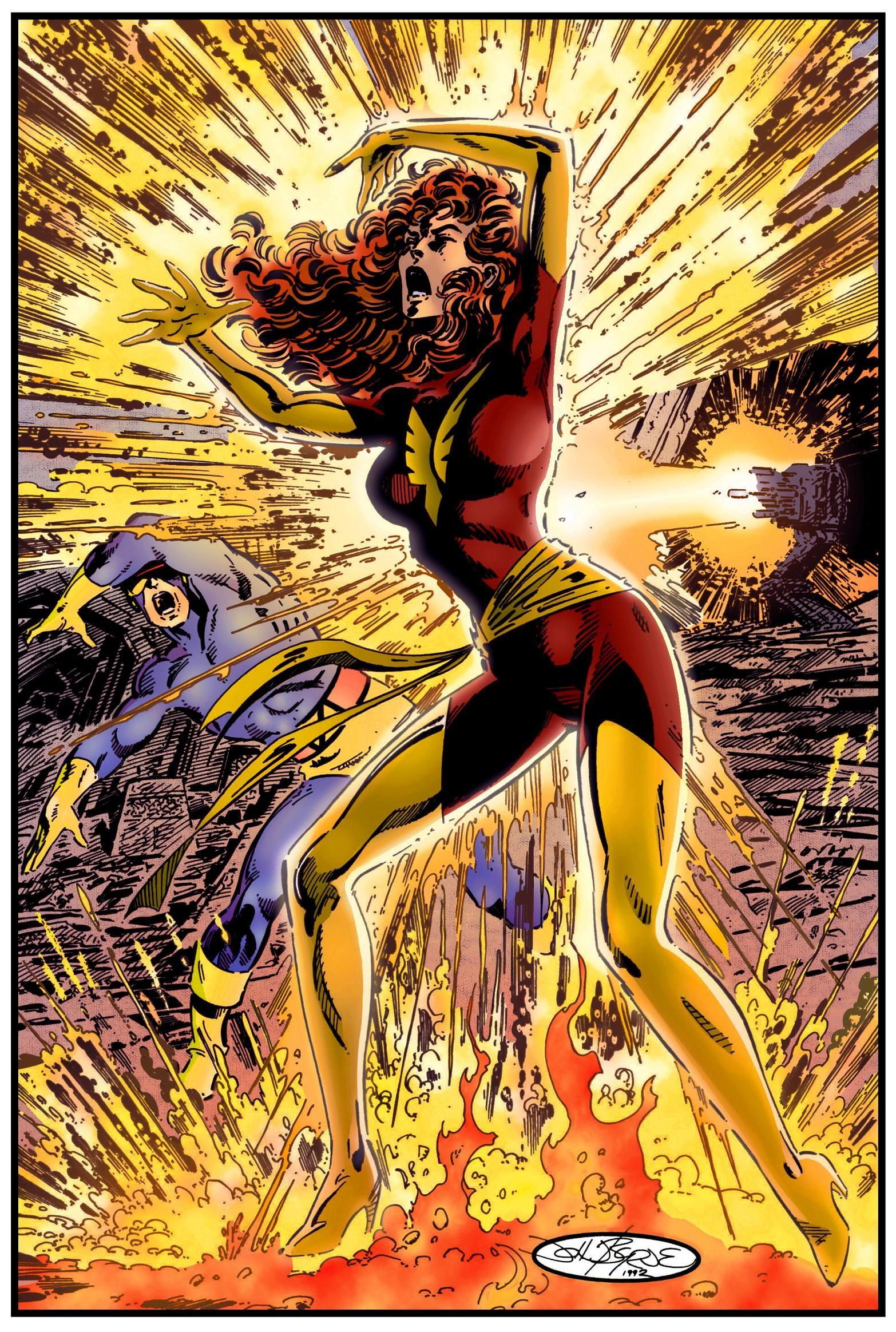 Dark Phoenix Comic