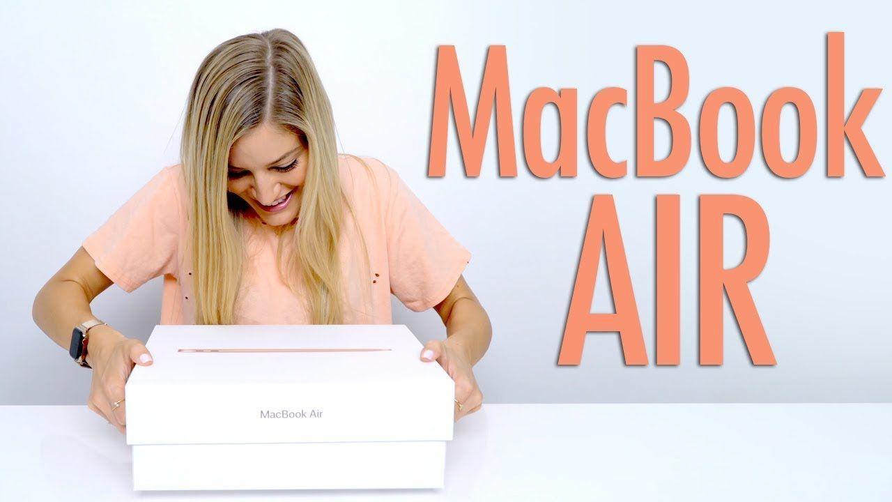 Gold 2018 Macbook Air Unboxing Tech Pinterest Macbook Air