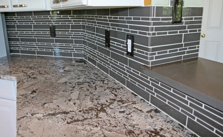 Marvelous Glass Tile Backsplash Corners Ideas For The House Interior Design Ideas Tzicisoteloinfo