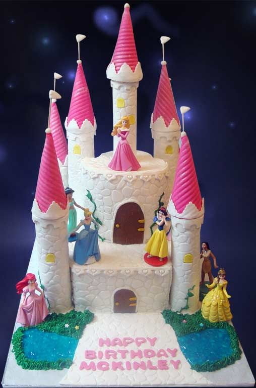 Birthday Castle Cake Fail