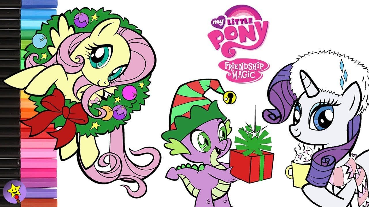 A Compilation Of My Little Pony Christmas Coloring Page Videos Mylittlepony Mlp Fluttershy My Little Pony Coloring Coloring Books Christmas Coloring Pages