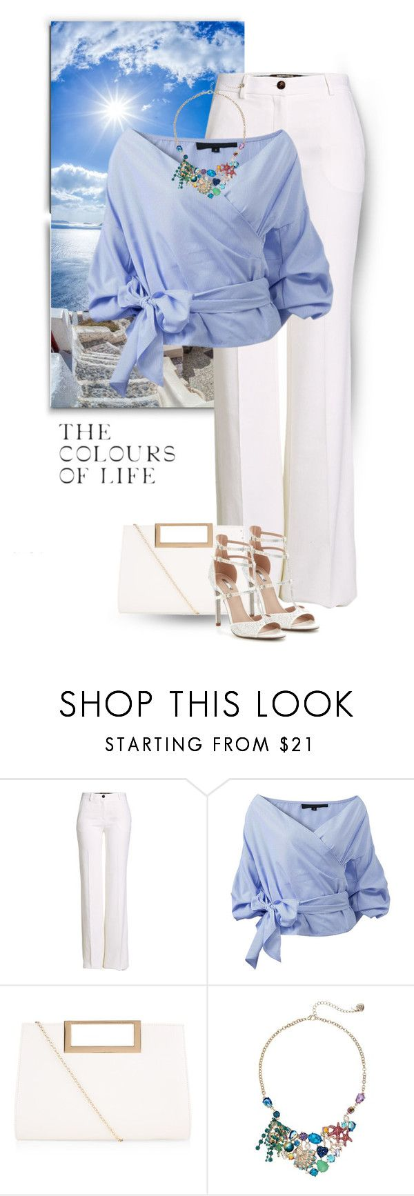 """""""street style"""" by janemichaud-ipod ❤ liked on Polyvore featuring Roberto Cavalli, New Look, Betsey Johnson and Carvela"""