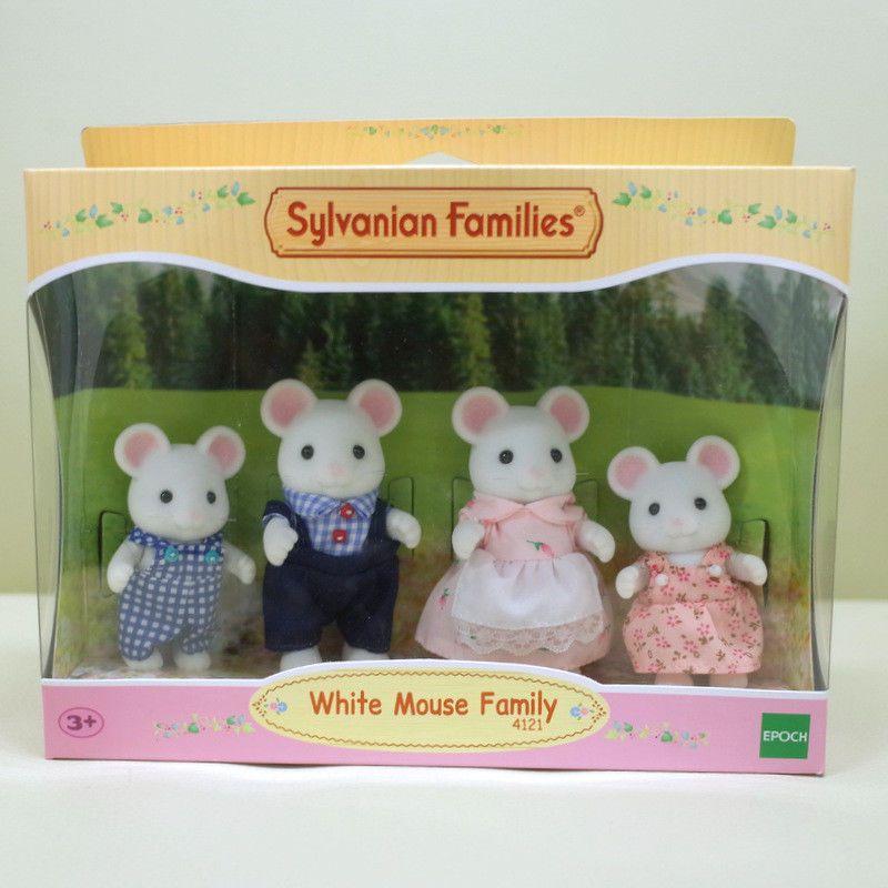 Sister of Sylvanian Families Town series marshmallow rats