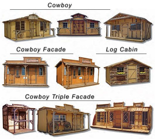 If you 39 re gonna build a shed or use one to live in may as for Western home builders