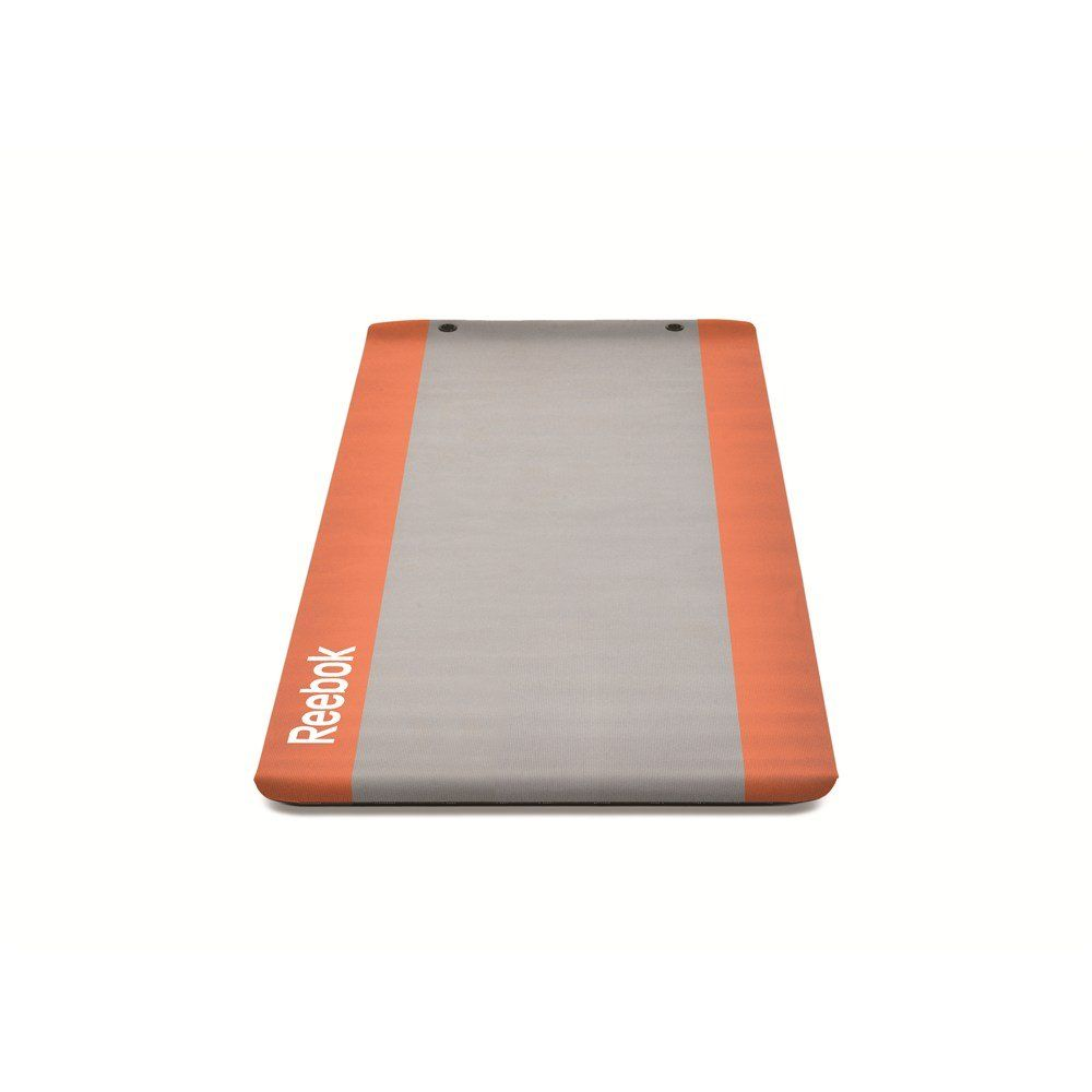 Reebok Extra Thick Premium Studio Yoga Mat With Storage Eyelets 6mm Thick Premium Reebok Yoga Mat Orange Includes Two Ey Yoga Mat Yoga Mats For Sale Reebok