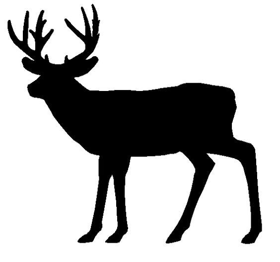 deer siluet pictures whitetail deer silhouette running whitetail rh pinterest com Deer Jumping Clip Art whitetail deer head clipart