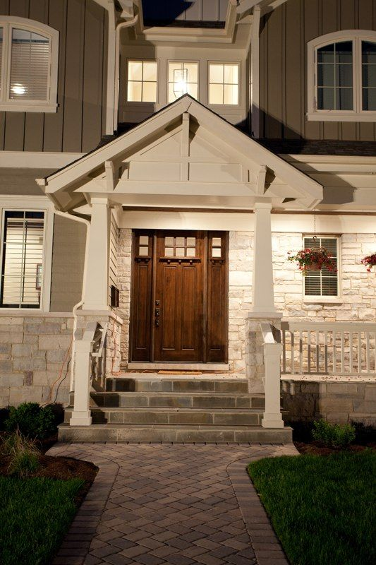 Love The Door With Side Lites Porch And Entry Steps Exterior Inspiration Perth House