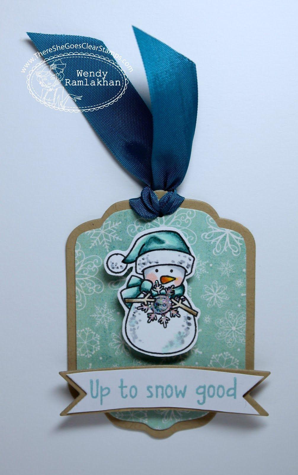 Wendy Ramlakhan of SugarPea Designs: TSG - Christmas Gift tag