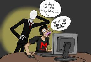 Slender and Markiplier...an amazng combo