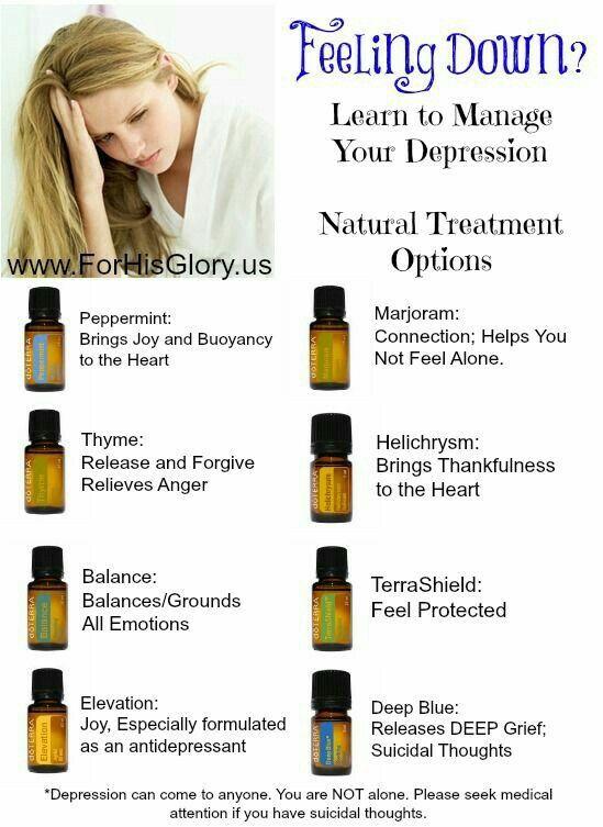 Oils for emotional health