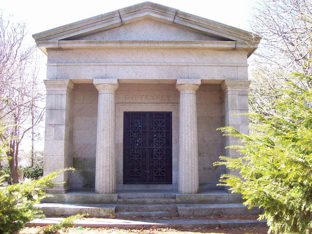 Tenney | C  H  Tenney Mausoleum, Maple Grove Cemetery