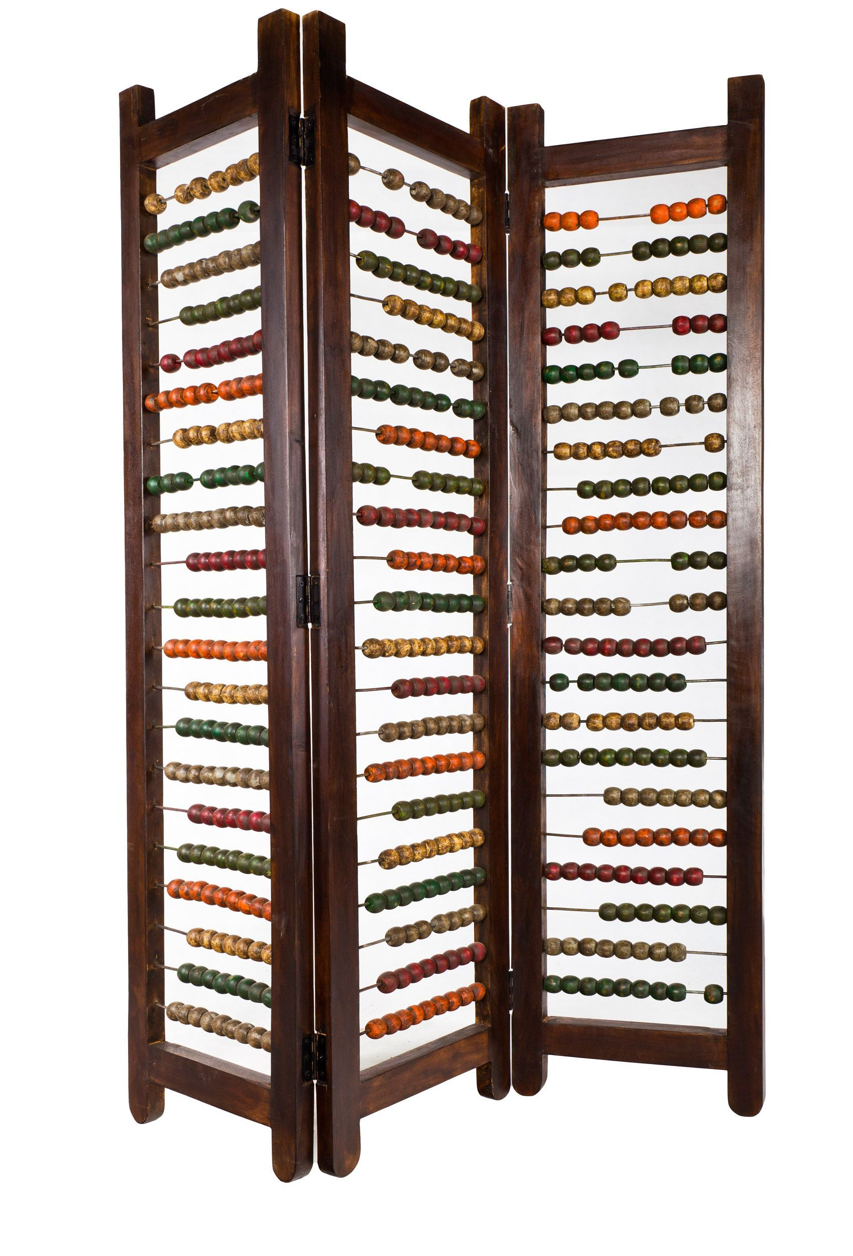 Like for kids room or play area abacus room divider