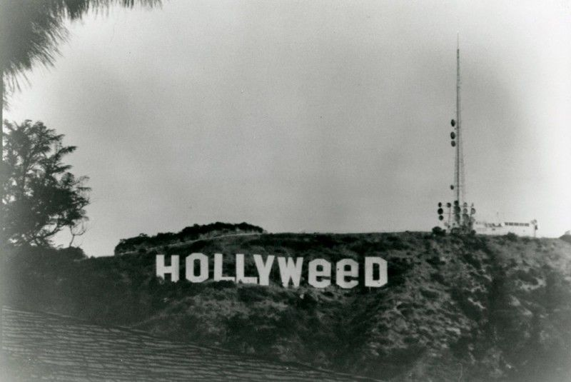 Hollyweed sign: Remembering a 1976 practical joke in Hollywood, California