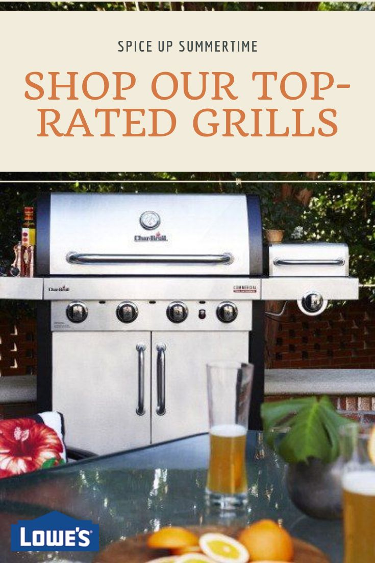 Char-Broil®; Commercial Series™ Grill Features TRU