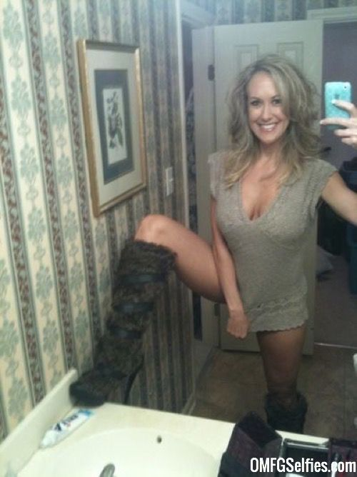 Mature women selfies