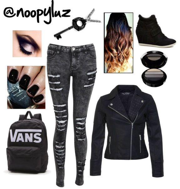 Outfit en negro!
