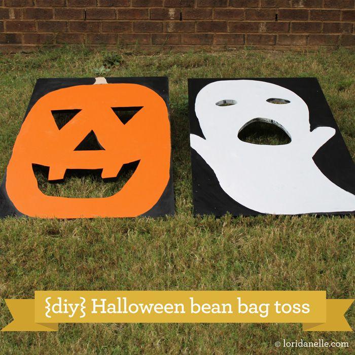 Diy Fall Carnival Bean Bag Toss Fall Carnival Halloween