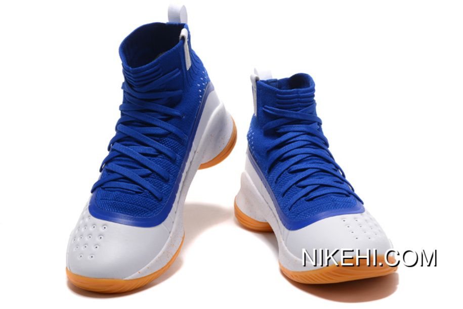 curry 4 white blue