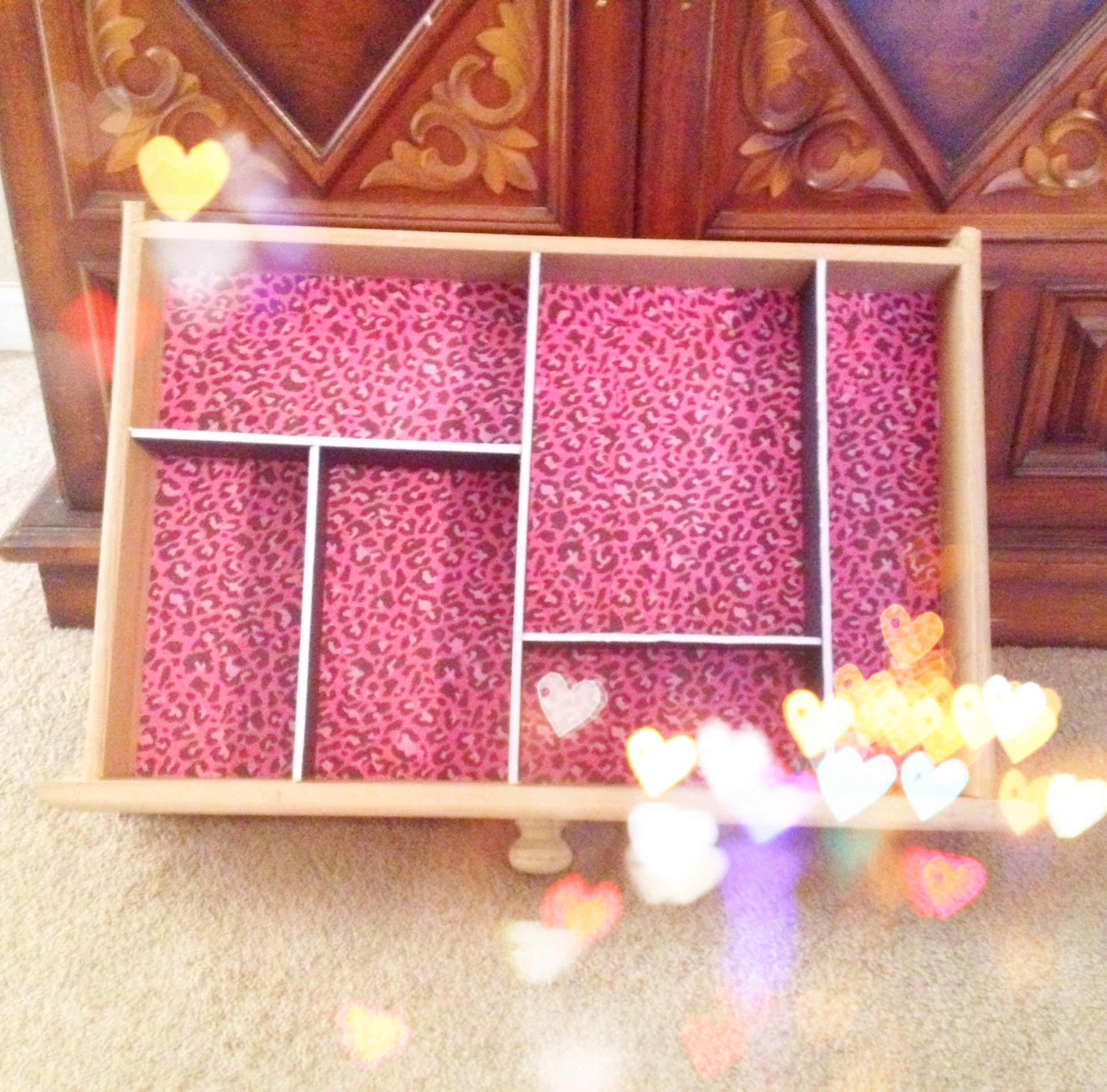 My diy makeup drawer dividers diy pinterest makeup drawer my diy makeup drawer dividers solutioingenieria Gallery