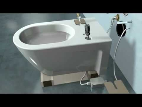 How To Install A Geberit Wall Hung Toilet Carrier With Flush Actuator Youtube Toilet Installation Wall Hung Toilet Modern Toilet