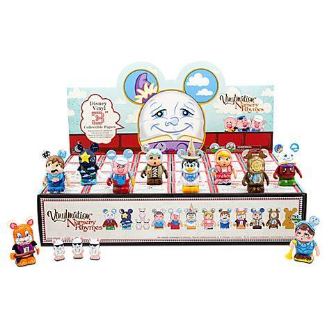 Vinylmation Nursery Rhymes Series Set - 3''   Vinyl Figures   Disney Store   $238.80   Purchased 02/01/13