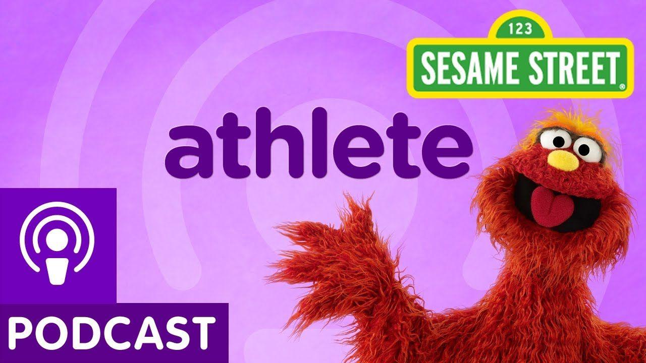 Sesame Street Athlete (Word on the Street Podcast) Art