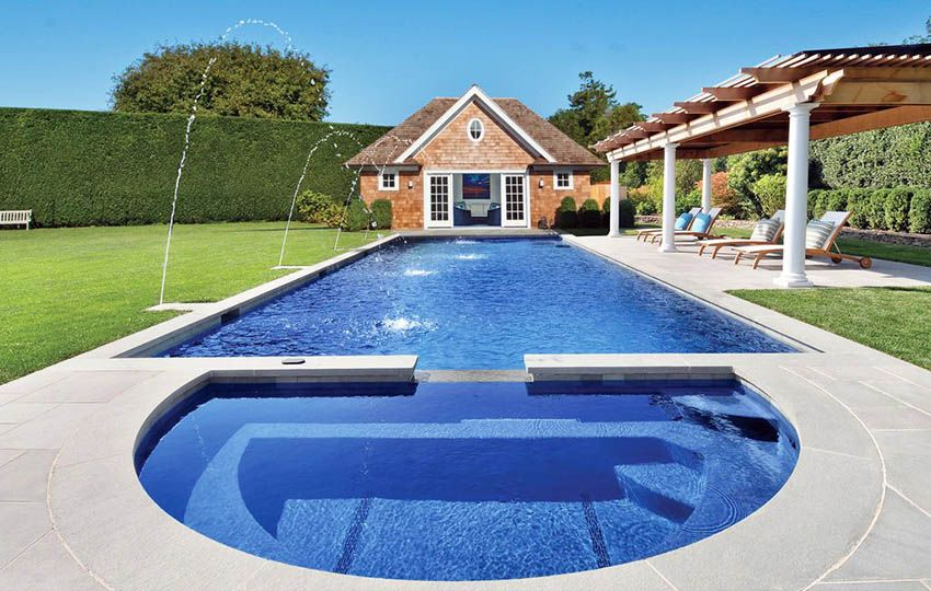 Top 8 Swimming Pool Shapes Backyard Pool Landscaping Amazing