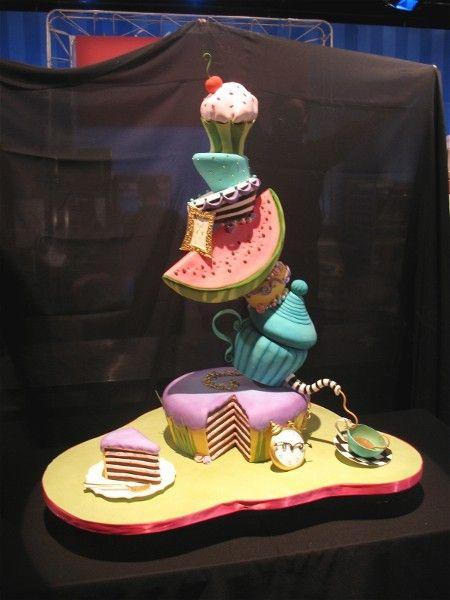 Disney Food Network Cake Challenge