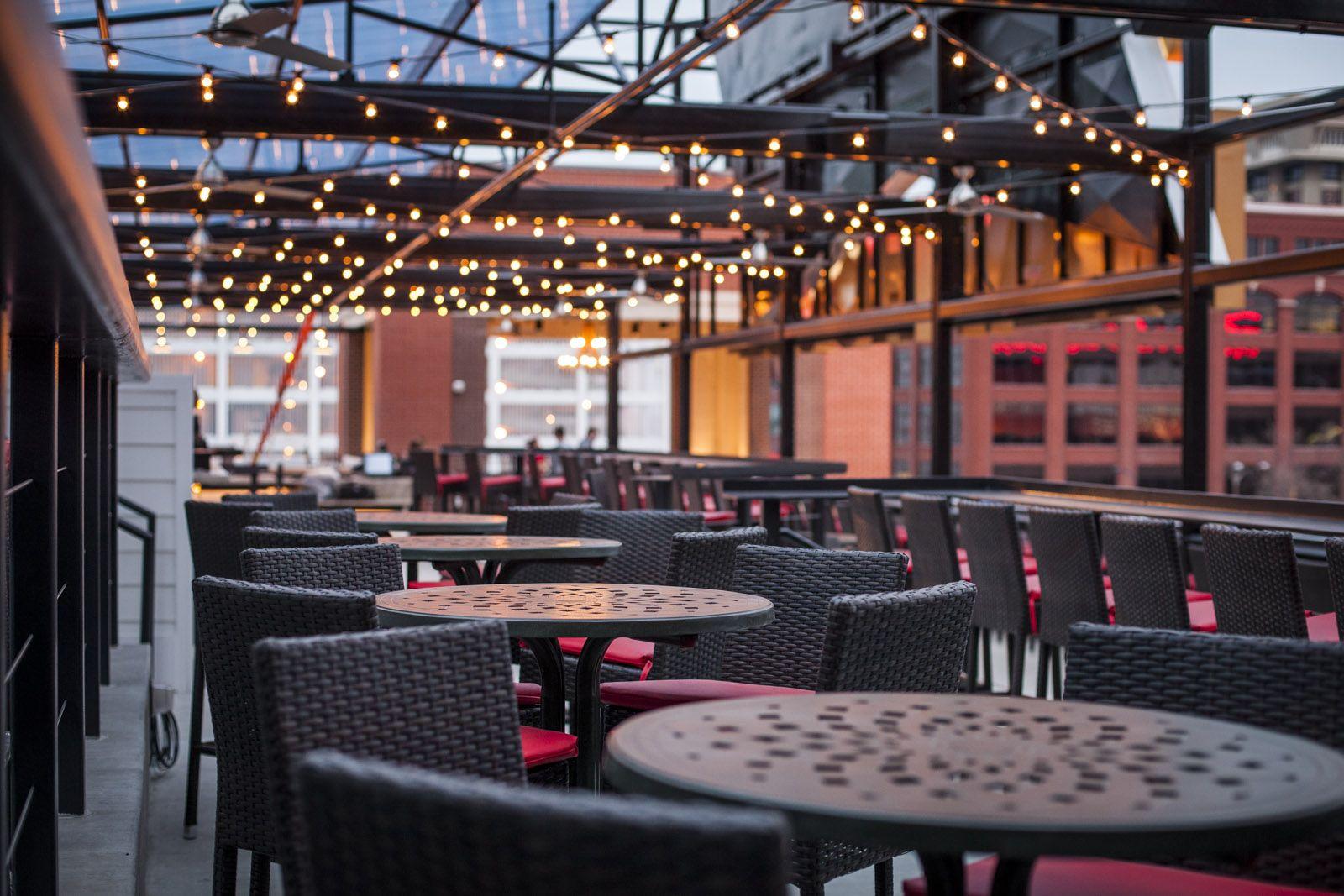 Rooftop Deck Budweiser Brew House Budweiser Brew House