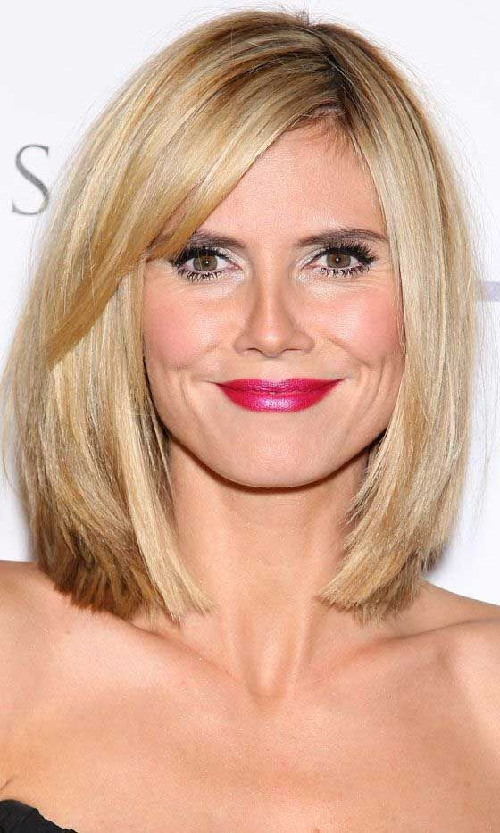best heidi klum bob haircuts the best short hairstyles for women 2015 hair pinterest. Black Bedroom Furniture Sets. Home Design Ideas