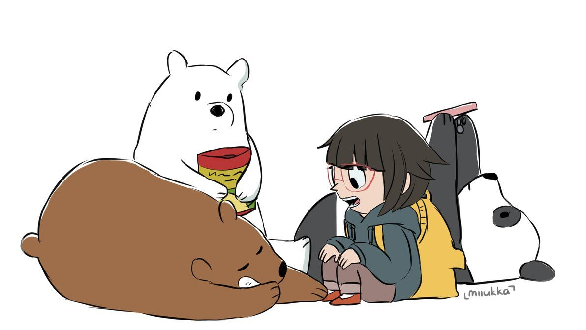 We Bare Bears Grizzly Grizz Panda Ice Bear Chloe I Cant Structured Wiring Cartoon Believe Is Voiced By Dimitri Martin Its A Pleasant Surprise Love