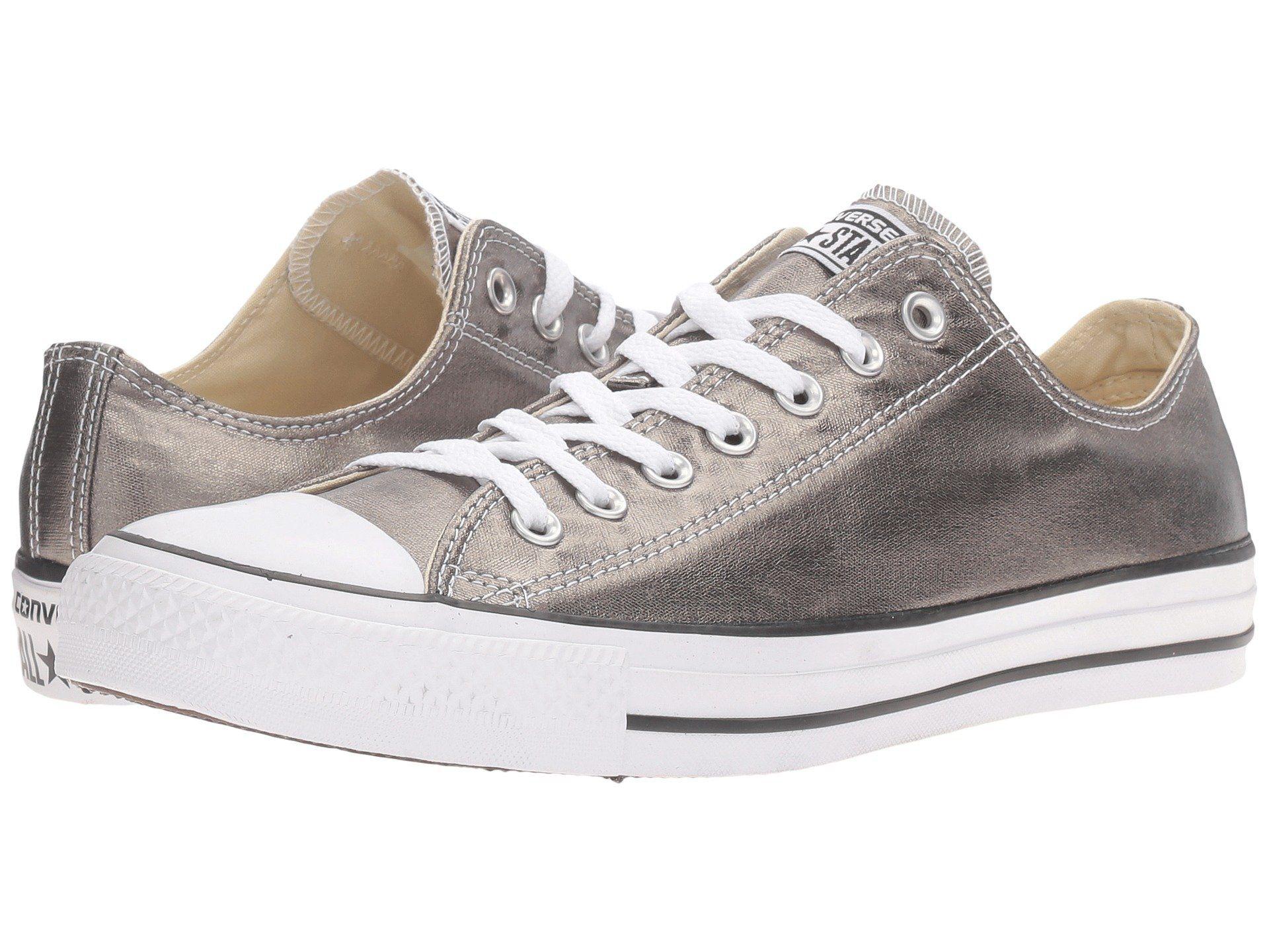 28eb2fa1b213 CONVERSE Chuck Taylor® All Star® Metallic Canvas Ox.  converse  shoes