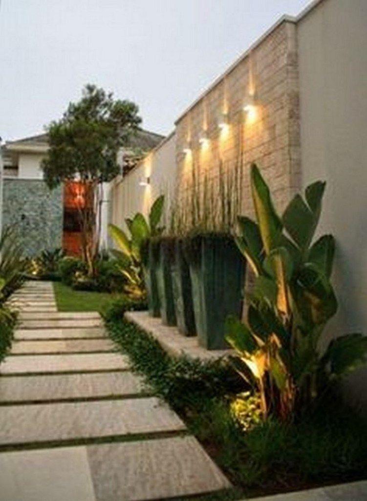 52 Cool Modern Front Yard Landscaping Ideas 17 Desain Lanskap