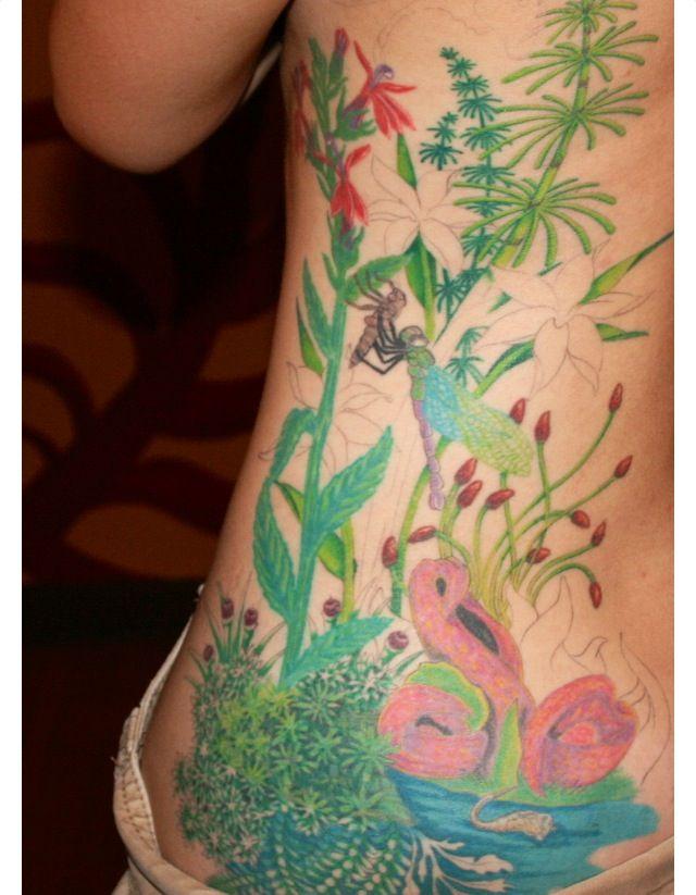 Beautiful Botanical Tattoos By Salem Witch Descendant: Science Tattoos, Body Art