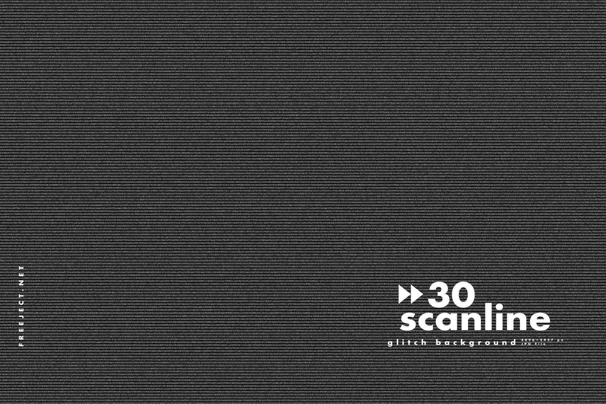 30 Scan Lines Glitch Background Glitch Creative Words Line Background