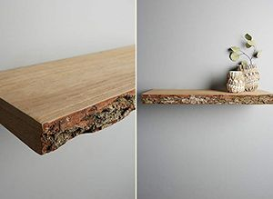 Live Edge Wood Slabs Add A Piece Of Nature To Your Home Stonewood Floating Shelves Oak Floating Shelves Floating Shelves Diy
