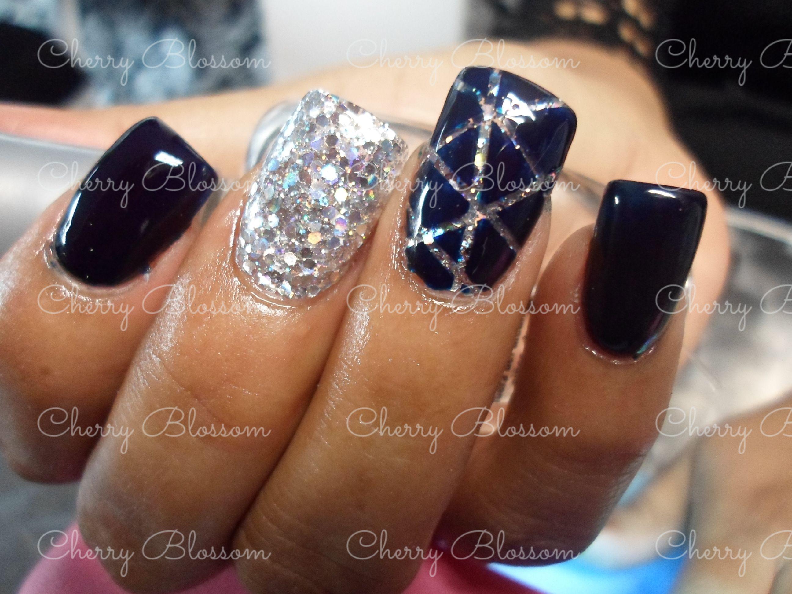 Cherry Blossom mva Citas 866 1390010 wspp Uñas, nails, acrilico ...