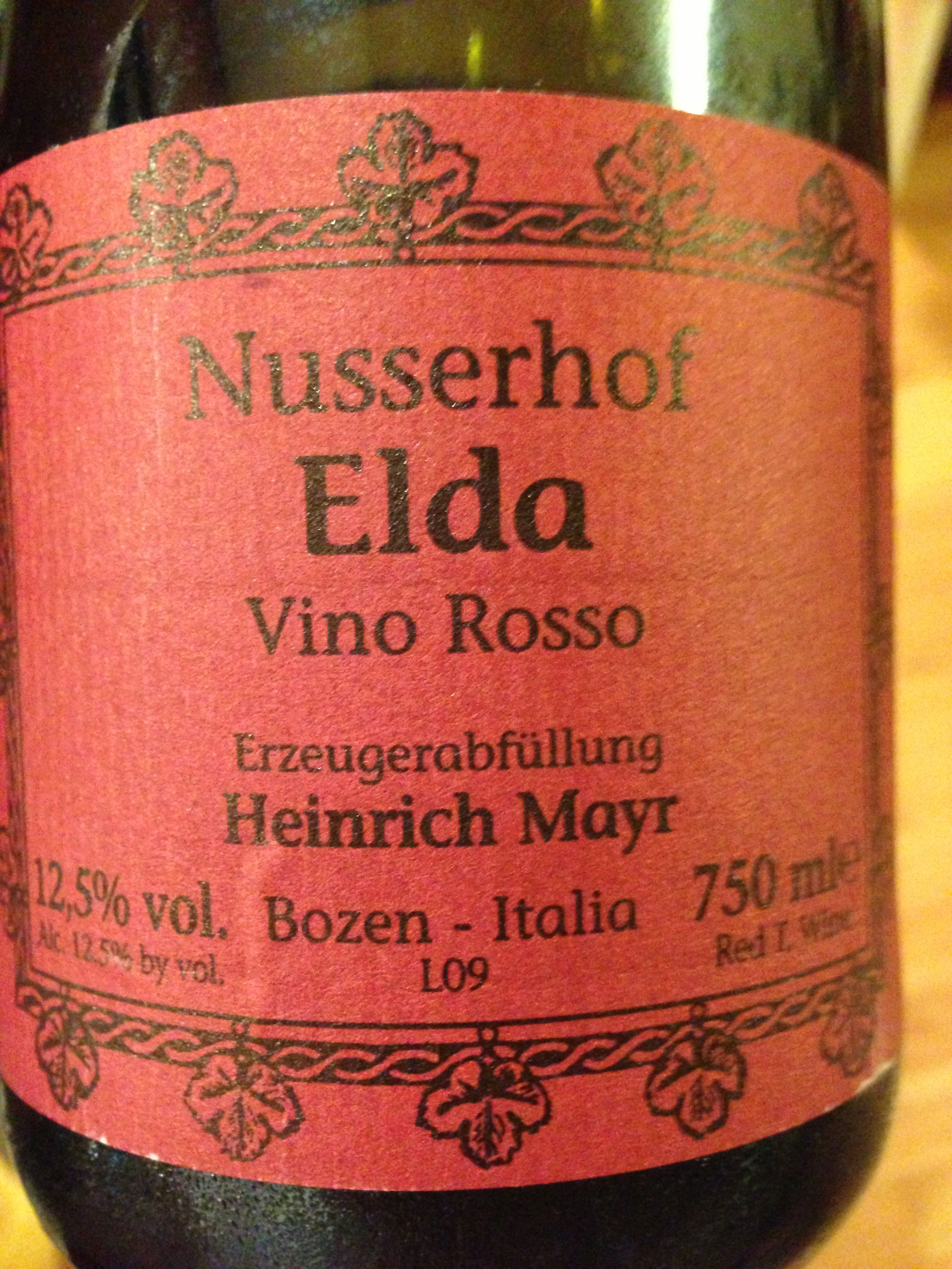 Very Interesting Wine From Alto Adige Not Sure What The Grape Is But It Has Nice Acidity And A Memorable Herbal Note How To Memorize Things Wines Wine Cooler