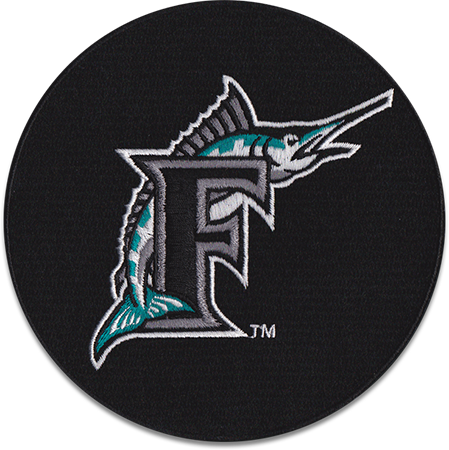 Florida Marlins Sports Logo Patch Patches Collect Collection Sports Emblem Emblems Insignia Baseball Mlb Logos Patch Logo Patch Collecting
