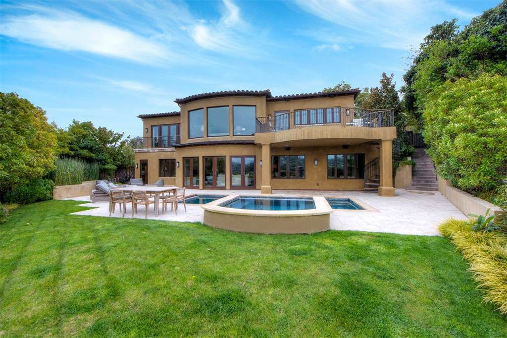 Custom Built View Home: 3 North Point Circle Belvedere, California 94920 United States