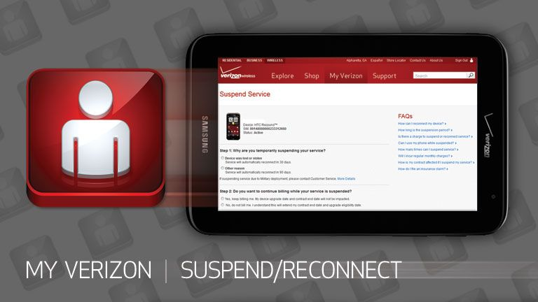 How To Suspend And Reconnect Your Verizon Wireless Service